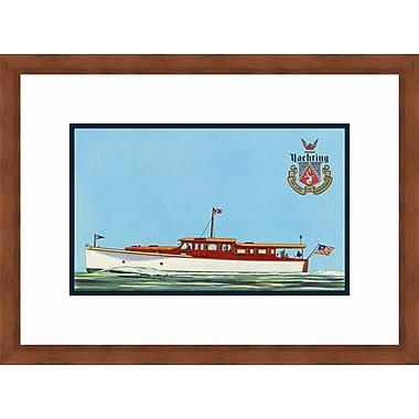Melissa Van Hise Yachting II Framed Graphic Art
