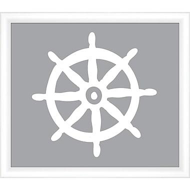 Melissa Van Hise Wheel Framed Graphic Art