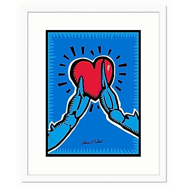 Melissa Van Hise Care for Crabs by Ramon Matheu Framed Painting Print