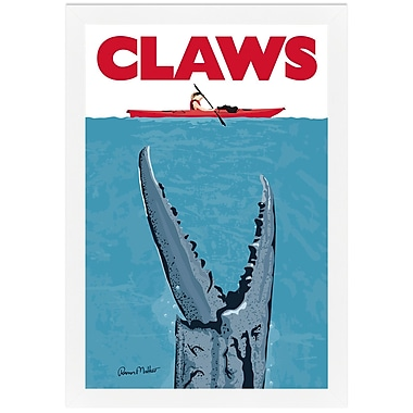 Melissa Van Hise Claws by Ramon Matheu Framed Graphic Art