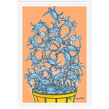 Melissa Van Hise Bushel of Crabs by Ramon Matheu Framed Graphic Art