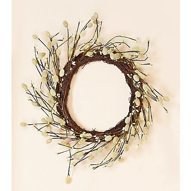Worth Imports Pussy Willow Wreath