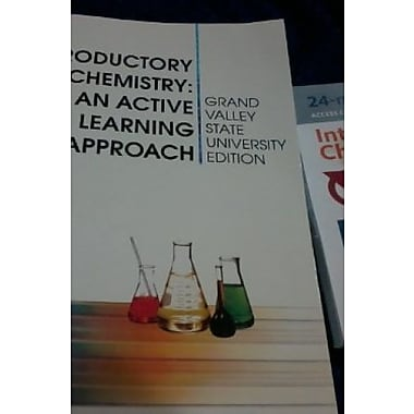 Introductory Chemistry: An Active Learning Approach (Grand Valley State University Edition) (9781285032566)