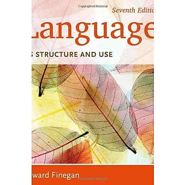 Language: Its Structure and Use, New Book (9781285052458)