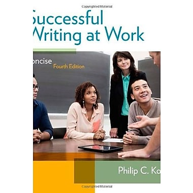 Successful Writing at Work: Concise Edition, New Book (9781285052564)