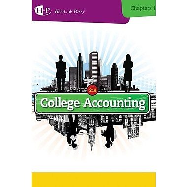 College Accounting, Chapters 1-15, New Book (9781285055442)