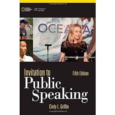 Invitation to Public Speaking - National Geographic Edition, Used Book (9781285066141)