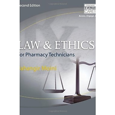 Law and Ethics for Pharmacy Technicians, Used Book (9781285082066)