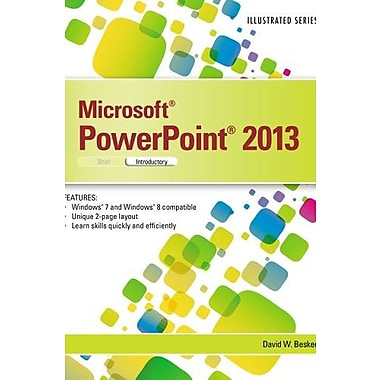 Microsoft PowerPoint 2013: Illustrated Introductory, New Book (9781285082592)