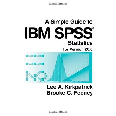 A Simple Guide to IBM SPSS: For Version 20.0, Used Book (9781285086019)
