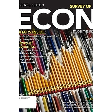 Survey of ECON 2 (With CourseMate Printed Access Card), New Book (9781285087306)
