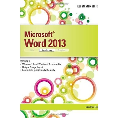 Microsoft Word 2013: Illustrated Introductory (What's New for Applications?) (9781285093123)