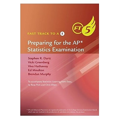Fast Track to a 5 AP* Test-Prep Book for Peck's Statistics: Learning from Data (AP* Edition), New Book (9781285094649)
