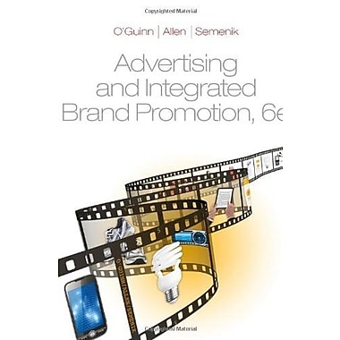 Advertising & Integrated Brand Promotion, Custom Edition, Univeristy of Texas - Austin, Sixth Edition, New Book