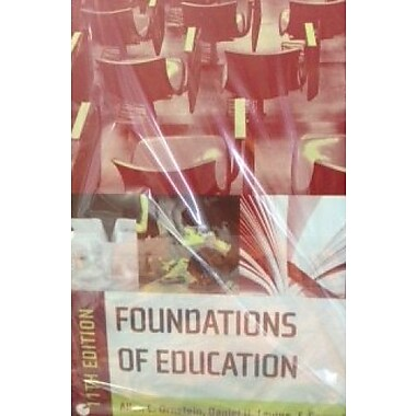 Foundations of Education, Custom Edition (9781285124797)