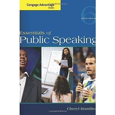 Cengage Advantage Series: Essentials of Public Speaking, Used Book (9781285159454)