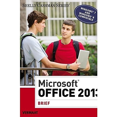 Microsoft Office 2013: Brief (Shelly Cashman Series), New Book (9781285166131)