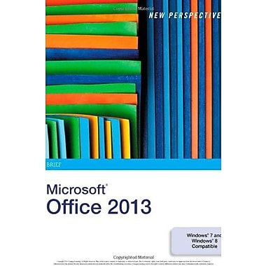 New Perspectives on Microsoft Office 2013: Brief, Used Book (9781285167657)