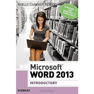Microsoft Word 2013: Introductory (Shelly Cashman), New Book (9781285167749)