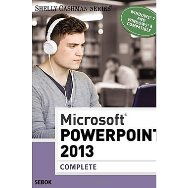Microsoft PowerPoint 2013: Complete (Shelly Cashman Series), New Book (9781285167893)
