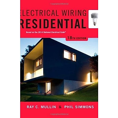 Electrical Wiring Residential, Used Book (9781285170954)