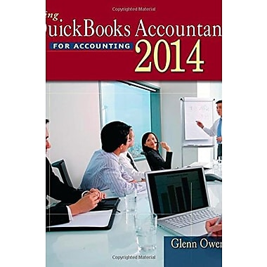 Using Quickbooks Accountant 2014 (with CD-ROM), Used Book (9781285183428)