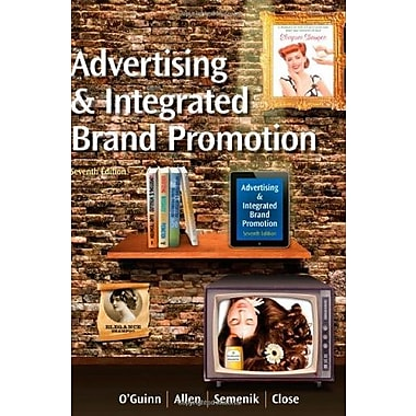 Advertising and Integrated Brand Promotion (with CourseMate with Ad Age Printed Access Card), New Book (9781285187815)