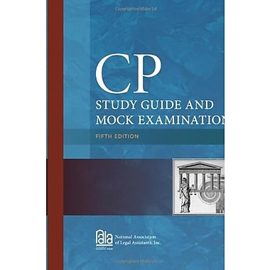 CP Study Guide and Mock Examination (9781285193243)