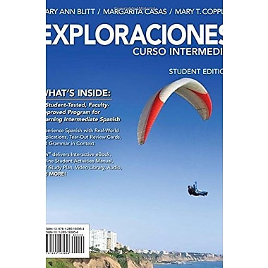 Exploraciones Curso IntermedioEngaging Titles from 4ltr Press), Used Book (9781285193953)