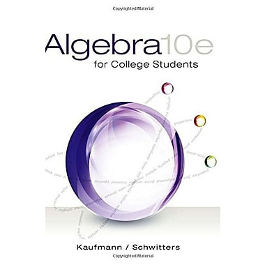 Algebra for College Students, Used Book (9781285195780)