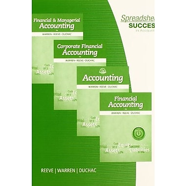 Spreadsheet Success in Accounting (9781285196343), New Book