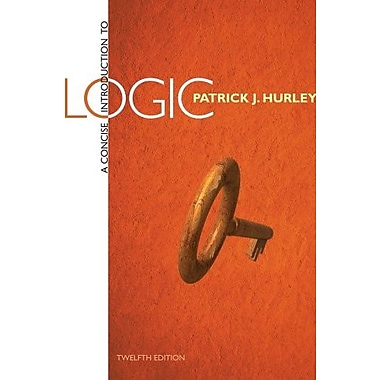 A Concise Introduction to Logic, Used Book (9781285196541)