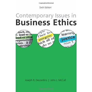 Contemporary Issues in Business Ethics, Used Book (9781285197401)