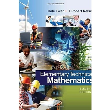 Elementary Technical Mathematics, Used Book (9781285199191)