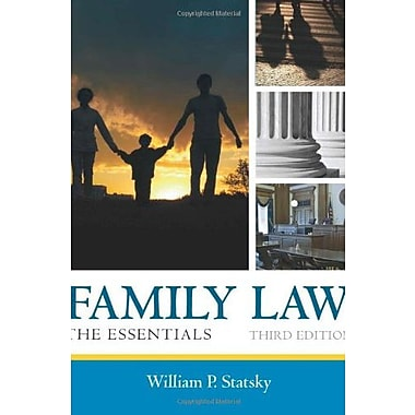 Family Law: The Essentials, Used Book (9781285420592)