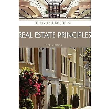 REAL ESTATE PRINCIPLES, Used Book (9781285420981)