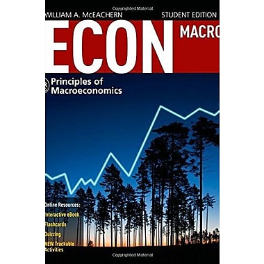 ECON Macroeconomics 4 (with CourseMate Printed Access Card), New Book (9781285423623)
