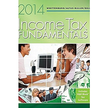 Income Tax Fundamentals 2014 (with H&R Block at Home CD-ROM), New Book (9781285424545)