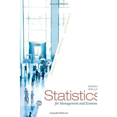 Statistics for Management and Economics, Used Book (9781285425450)