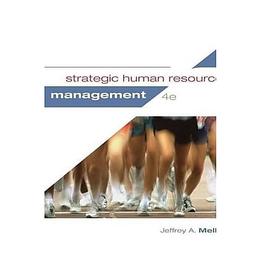 Strategic Human Resource Management, Used Book (9781285426792)