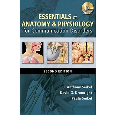 Essentials of Anatomy and Physiology for Communication Disorders (Book Only), New Book (9781285429328)