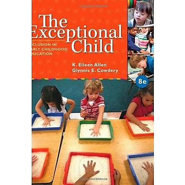 The Exceptional Child: Inclusion in Early Childhood Education, New Book (9781285432373)