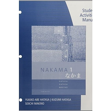 SAM for Hatasa/Hatasa/Makino's Nakama 1: Japanese Communication Culture Context, 3rd, Used Book (9781285433455)