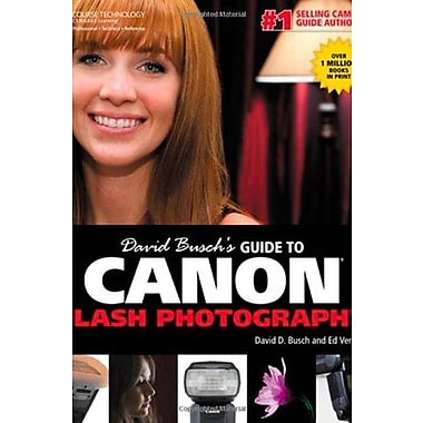 David Busch's Guide to Canon Flash Photography, Used Book (9781285434650)