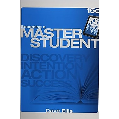 Discovery Wheel for Ellis' Becoming a Master Student, 15th, New Book (9781285437194)