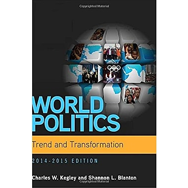 World Politics: Trend and Transformation, 2014 - 2015 (with CourseMate Printed Access Card), Used Book (9781285437279)