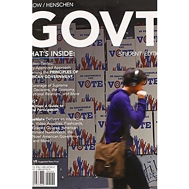 GOVT 6 (with CourseMate Printed Access Card), New Book (9781285437422)