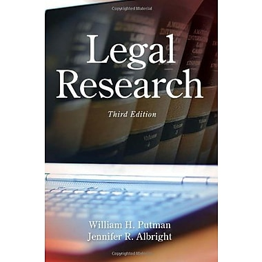 Legal Research, Used Book (9781285439938)