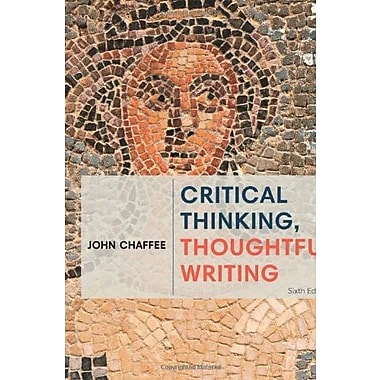 Critical Thinking, Thoughtful Writing, Used Book (9781285443034)