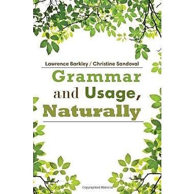 Grammar and Usage, Naturally, New Book (9781285445861)